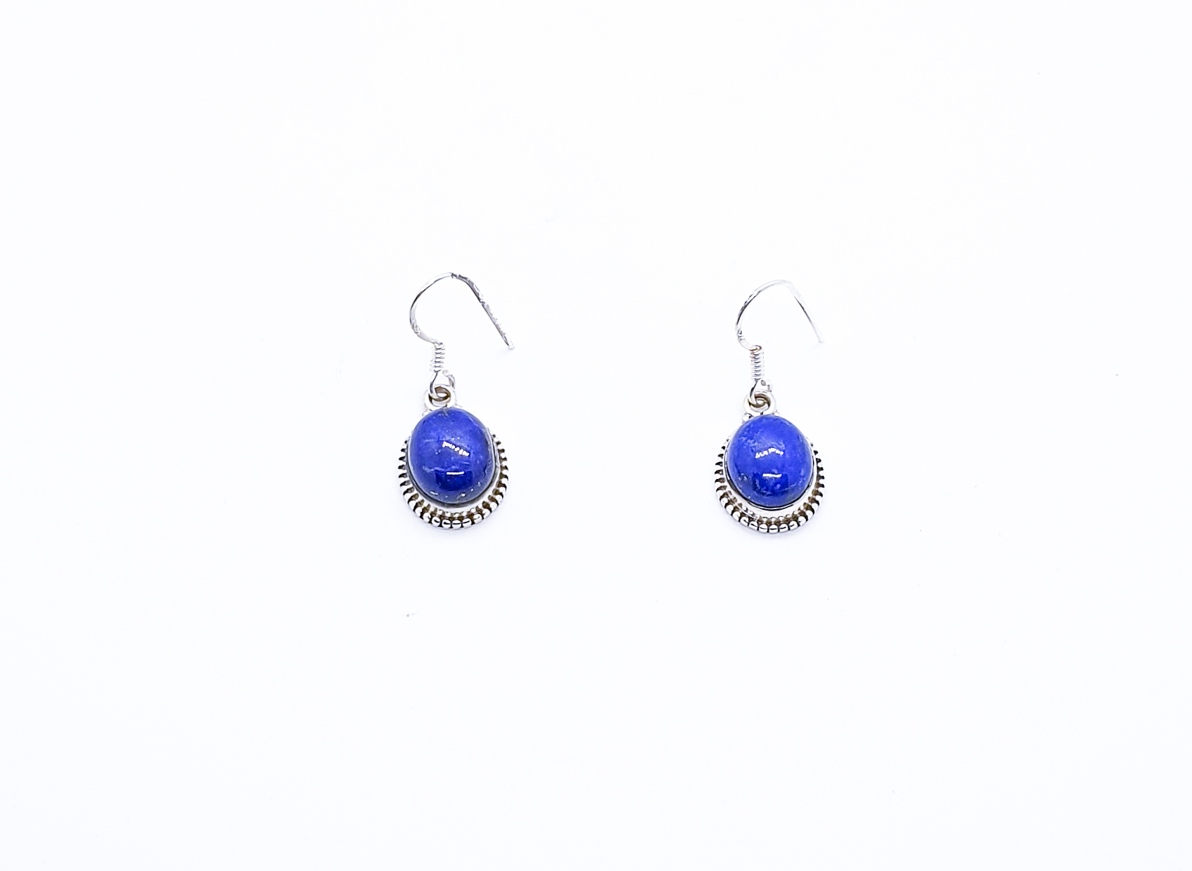 Photo 1 earrings silver 925 lapis