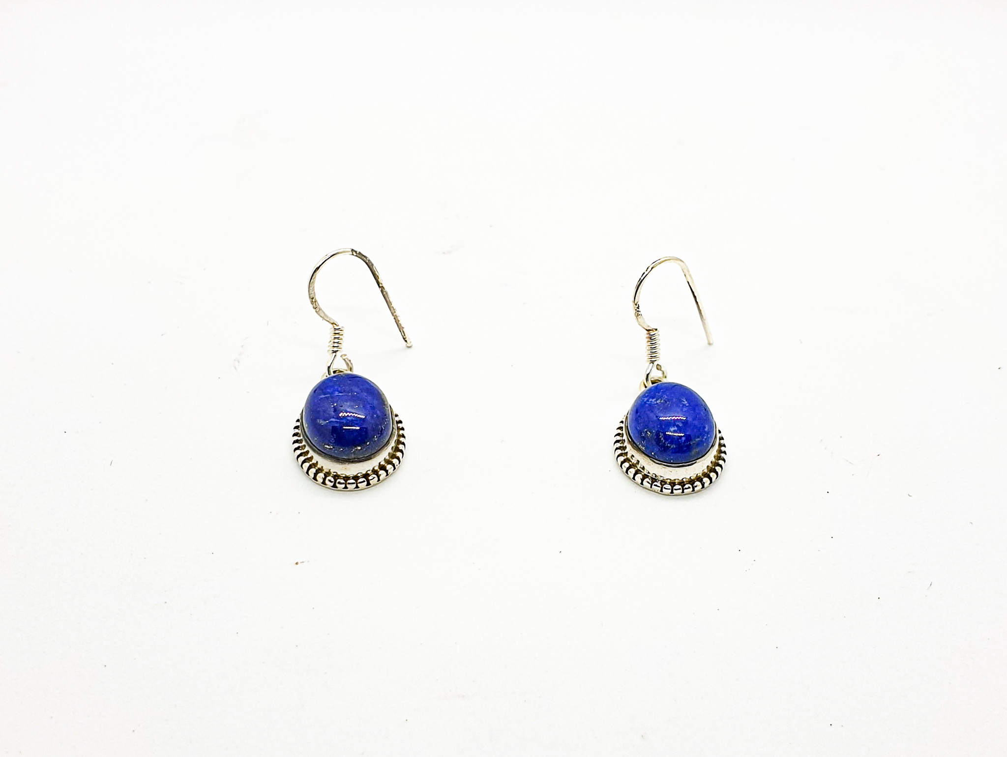 Photo 3 earrings silver 925 lapis