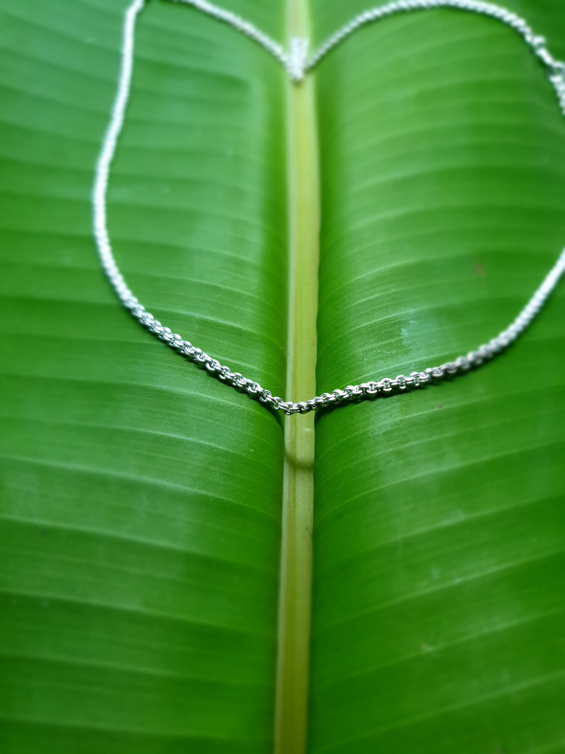 Photo silver necklace 3