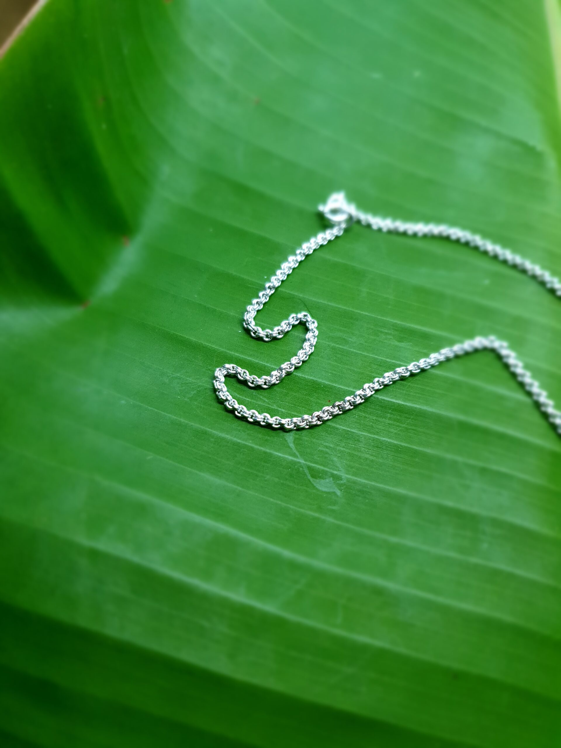 Photo silver necklace 2