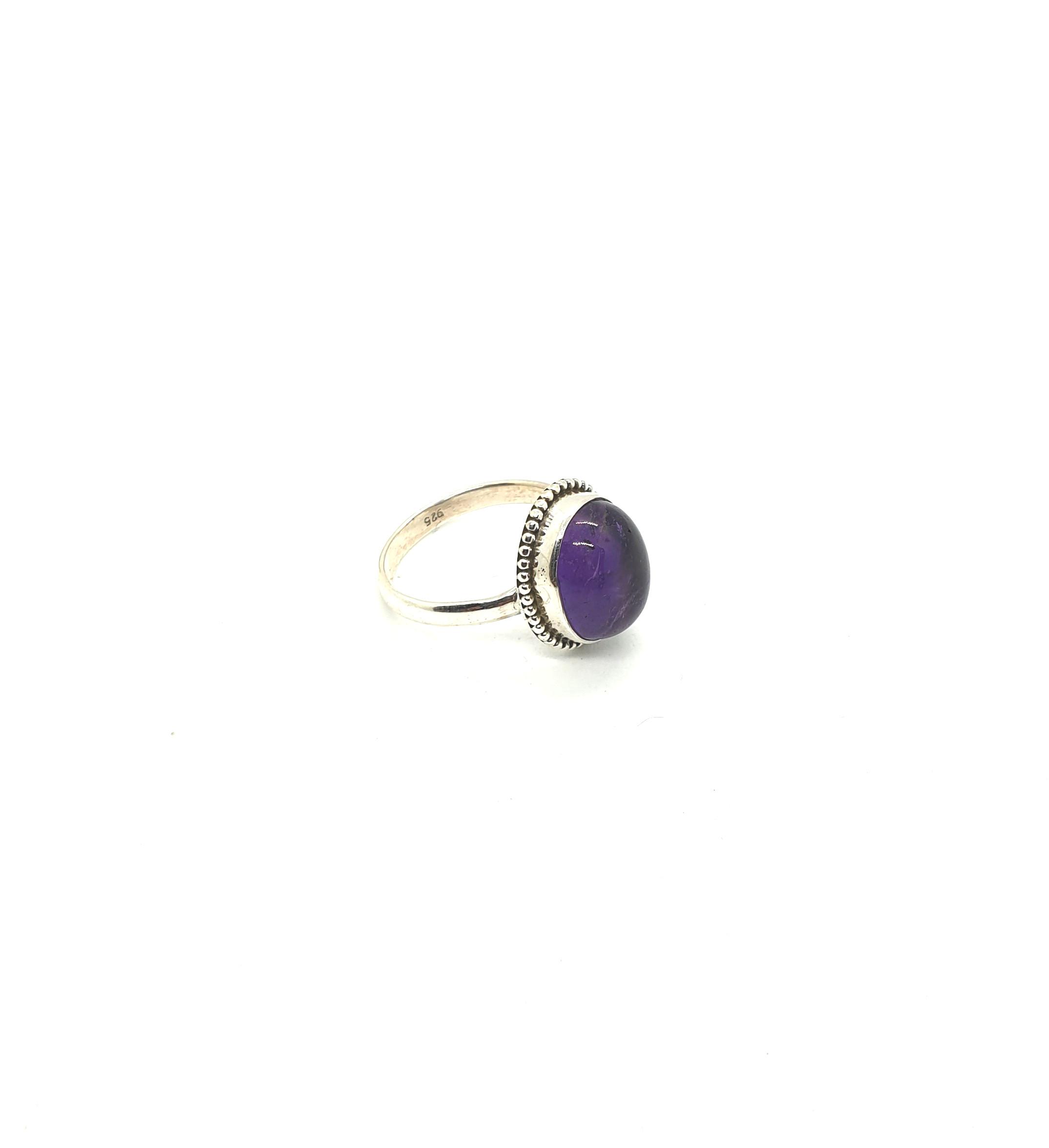 Photo Amethyst ring 2