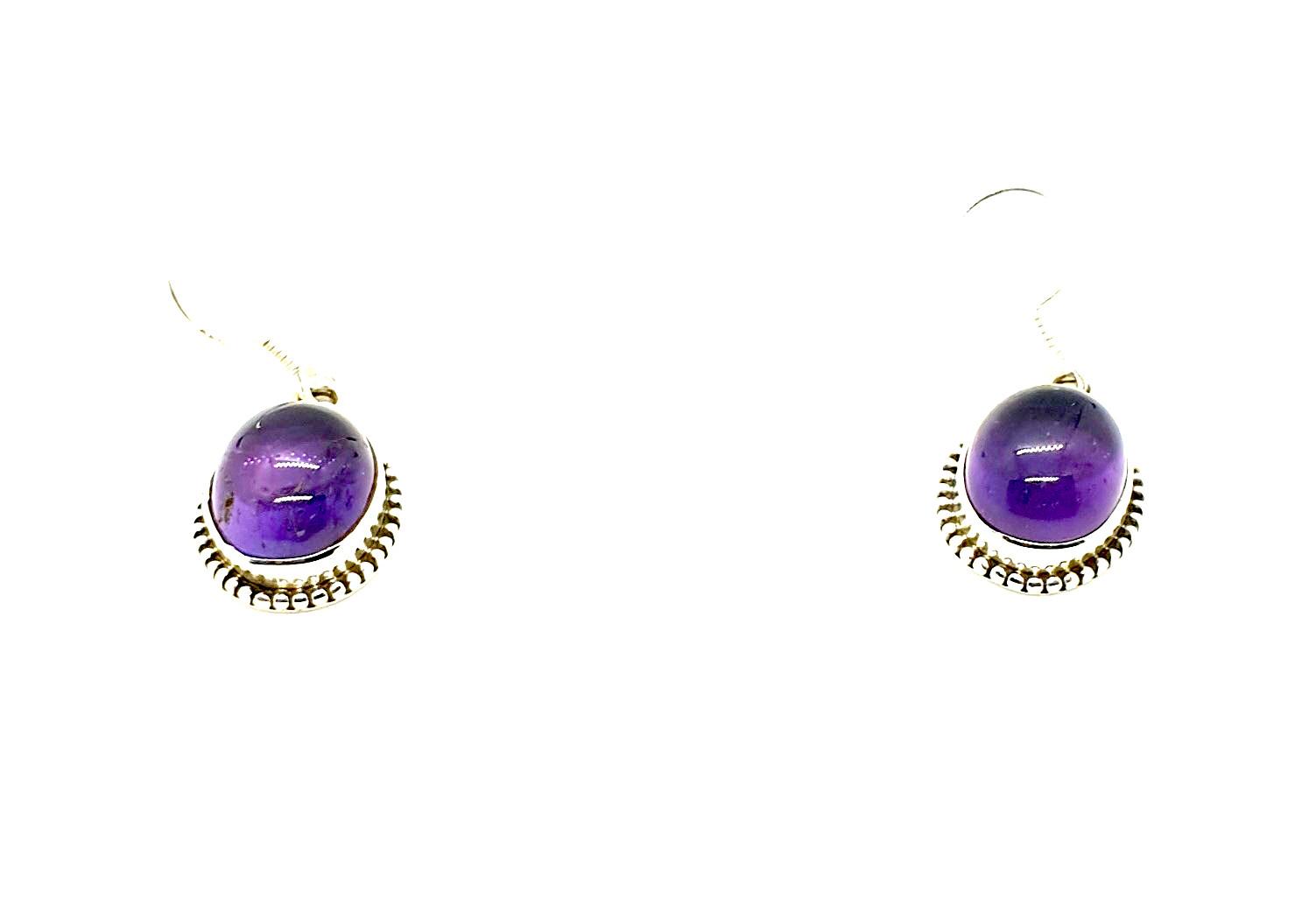 earring amethyst 1 photo